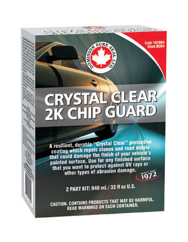 Dominion Sure Seal 2K Crystal Clear Chip Guard Kit