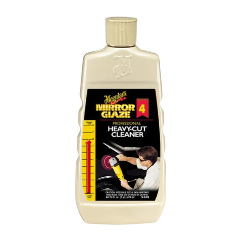 Meguiar's Mirror Glaze M04 Heavy Cut Cleaner 16 oz