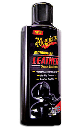 Meguiar's Motorcycle Leather Cleaner and Conditioner 6 oz