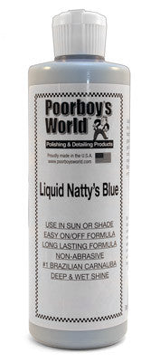 Poorboy's World Liquid Natty's Blue Wax 16 oz