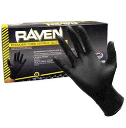 Raven Nitrile Disposable Glove (Powder-Free)