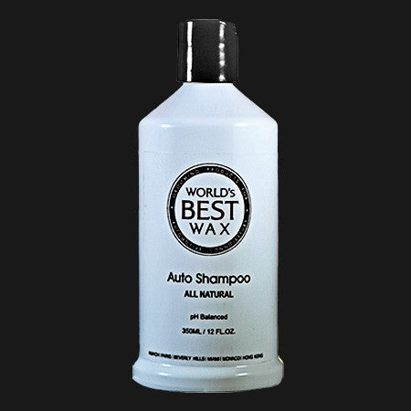 World's Best Wax Auto Shampoo 12 oz