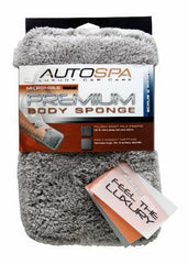 Carrand Auto Spa Microfiber Fleece Sponge