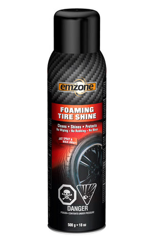emzone Foaming Tire Shine 18 oz