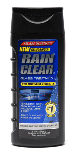 Glass Science Rain Clear Windshield Repellant Gel 4 oz