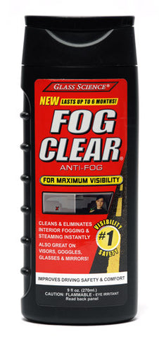 Glass Science Fog Clear Anti-Fog Liquid 9 oz