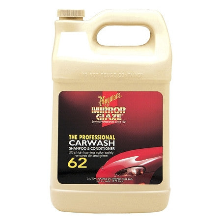 Meguiar's 62 Carwash Shampoo and Conditioner 128 oz
