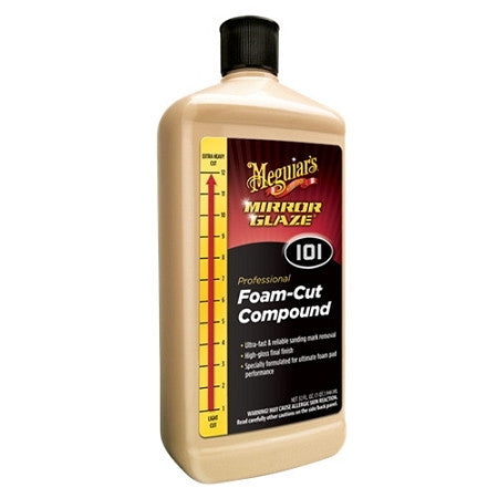 Meguiar's M101 Foam Cut Compound 32 oz