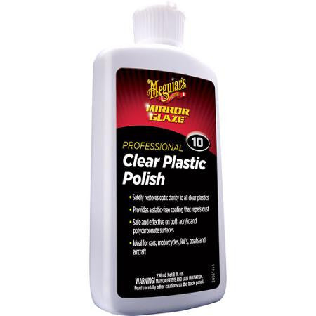 Meguiar's Clear Plastic Polish 8 oz