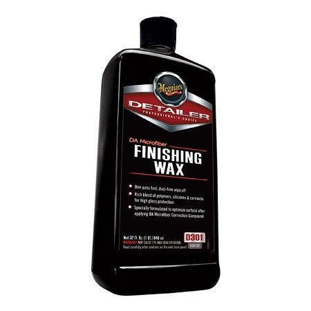 Meguiar's DA Microfiber Correction Finishing Wax 32 oz