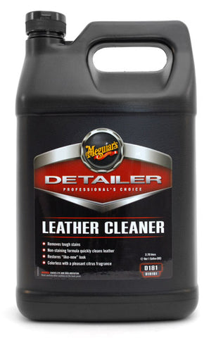 Meguiar's Detailer D181 Leather Cleaner 128 oz