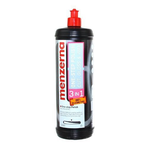 Menzerna 3 in 1 Cut, Gloss & Wax 32 oz
