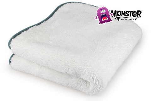 Monster Microfiber Great White Buffing Towel