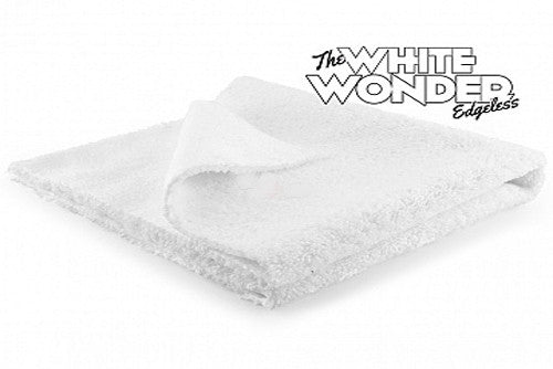 Monster Microfiber White Wonder Edgeless Towel