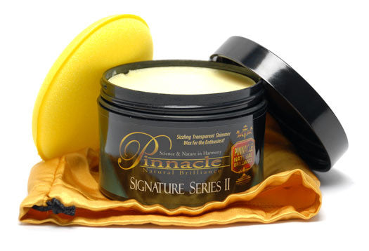 Pinnacle Signature Series II Carnauba Paste Wax 8 oz