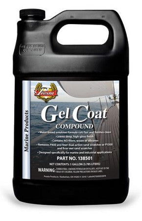Presta Gel Coat Compound 3.75 litre