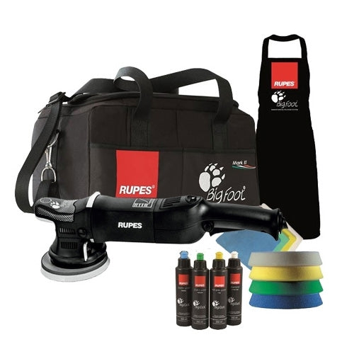 Rupes LHR21 MarkII Big Foot Random Orbital Polisher Deluxe Kit