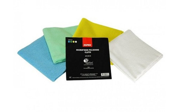 RUPES Microfibre Polishing Cloth 4 Pack