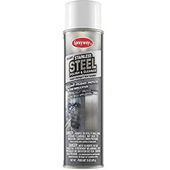 Sprayway Stainless Steel Cleaner and Polish 15 oz