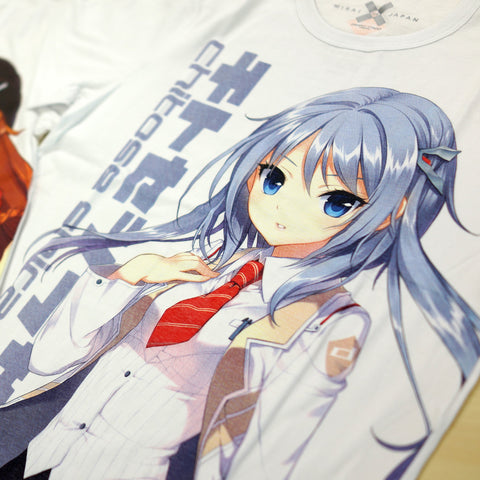 Chitose Shirasawa Full Print T-shirt (for humans)