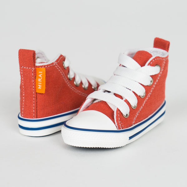 Canvas Shoes (Red)