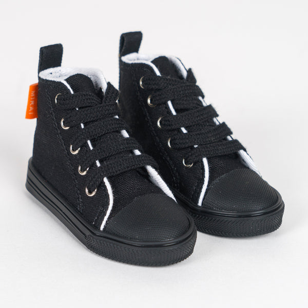 Canvas Shoes for Men (Black)