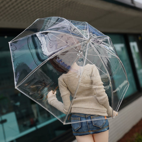 Transparent Vinyl Umbrella