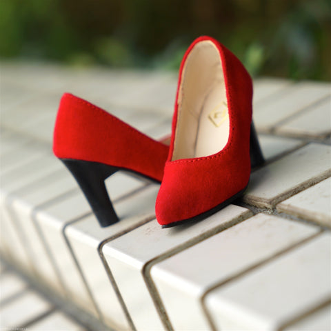 High Heel Shoes (Red)