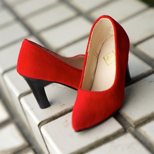 High Heel Shoes Red