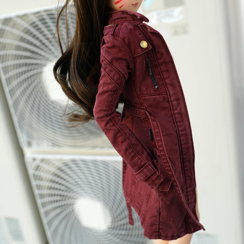 Wasteland Jacket (Wine Red)