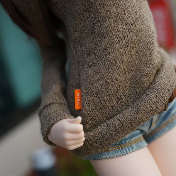Knit Sweater (Coffee)