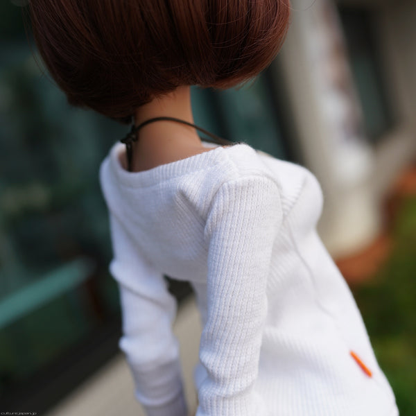 Boatneck Sweater (white)