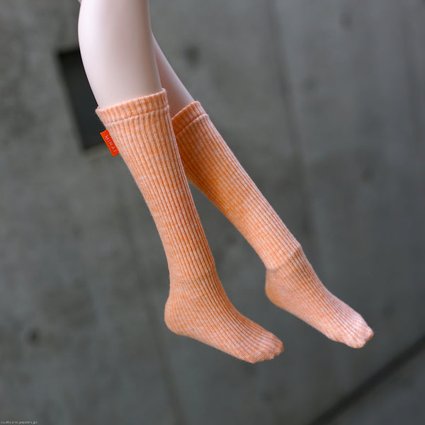Girls Socks (Organic Orange)