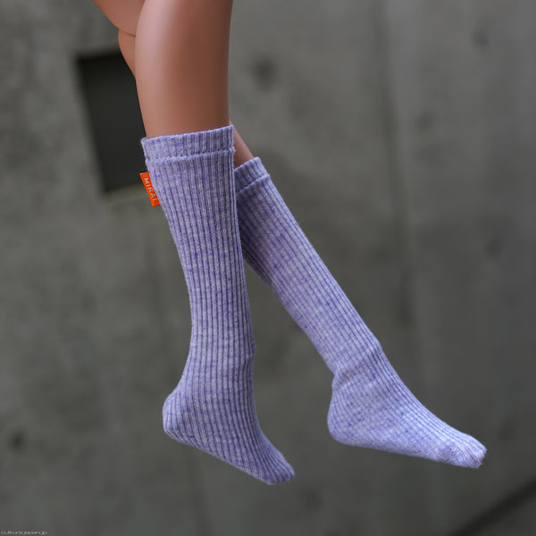 Girls Socks (Organic Purple)