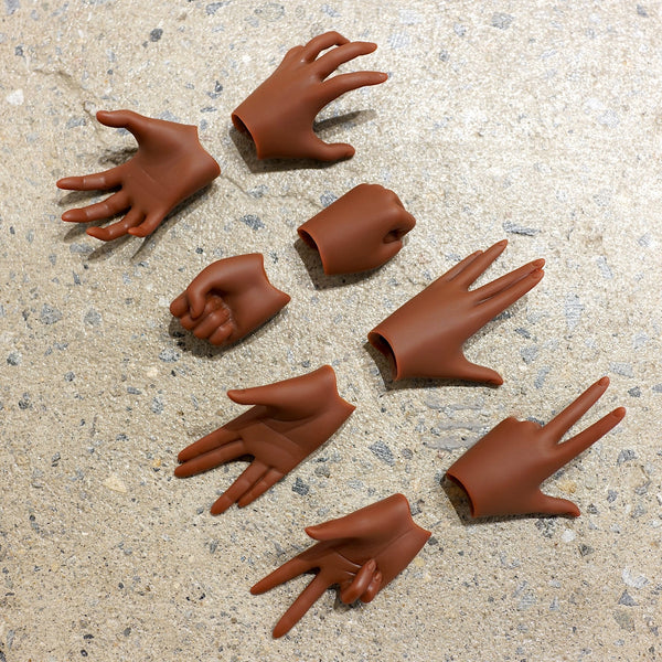 Option Hand Pack 3 for girls (Cocoa color)