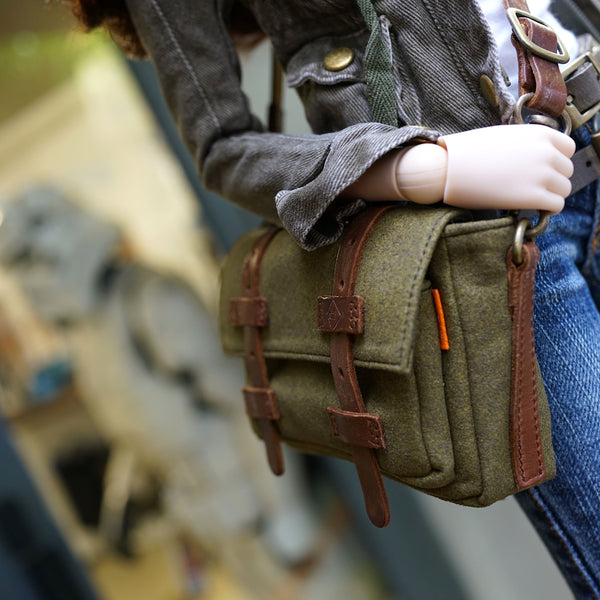 Satchel Bag (Khaki Green)