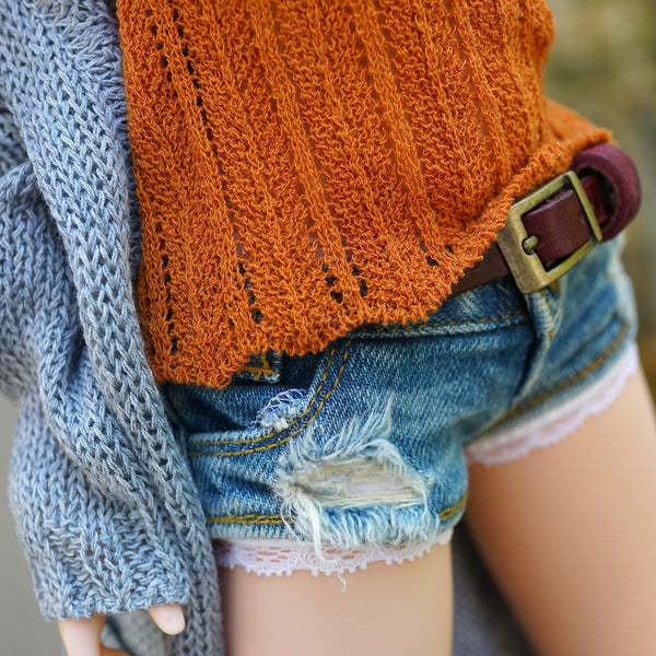 Knit Camisole (Rusty Orange)