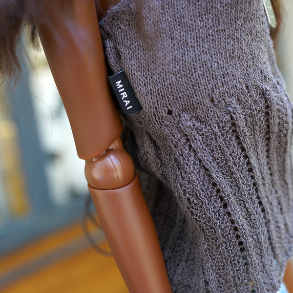 Knit Camisole (Smokey Plum)