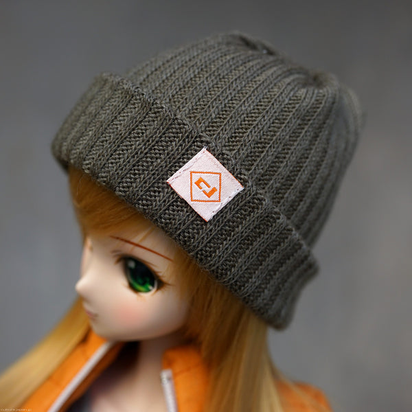 Rib Knit Hat (Marsh Green)