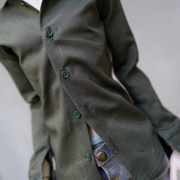 Mens Shirt (Khaki Green)