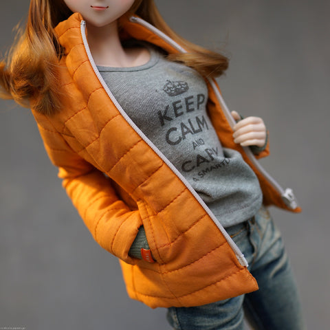 Down Jacket (Tangerine)
