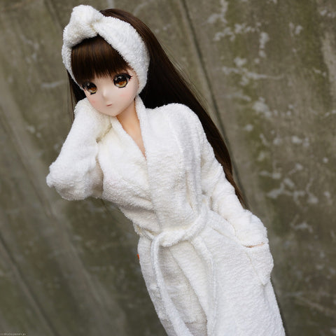 Bathrobe & Hair Band Set