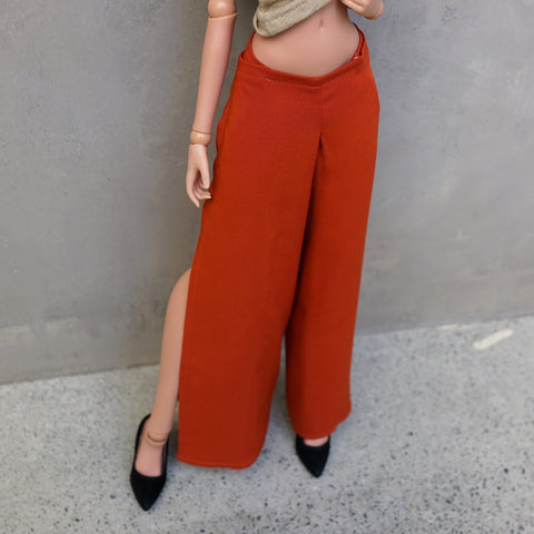Split Gaucho Pants