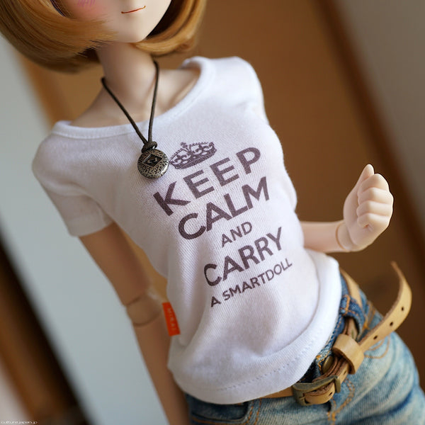Keep Calm T-shirt (White)
