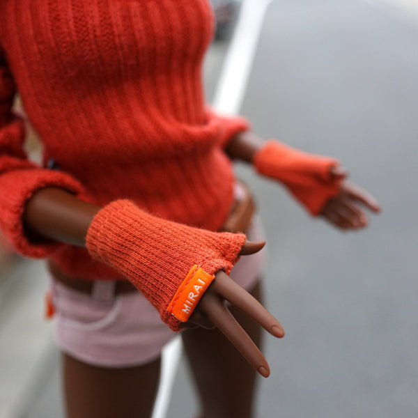 Fingerless Mittens (set of 3 colors)