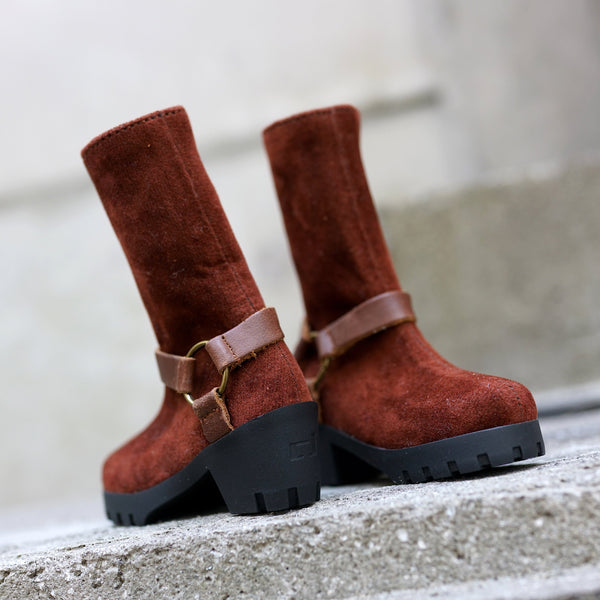 Ring Boots (Brown)