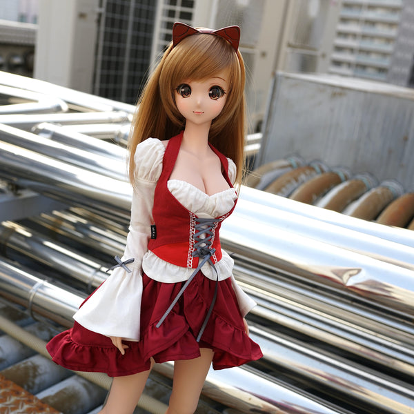 Beer Girl Dress (Red)