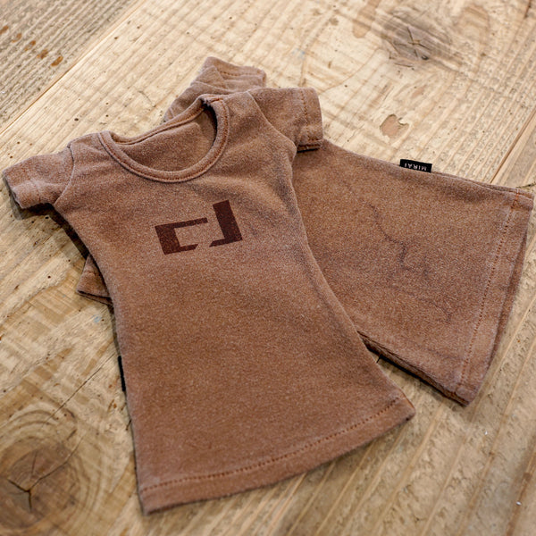 Weathered CJ T-Shirt (Brown)