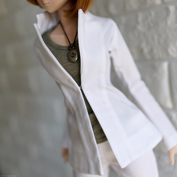 2 Piece Suit (White)