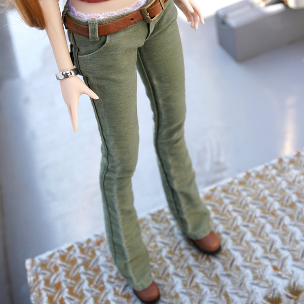 Weathered Olive Green Pants